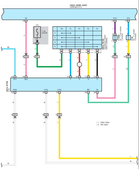 Toyota  Lexus Wiring Diagram -  U0421 U0442 U0440 U0430 U043d U0438 U0446 U0430 4